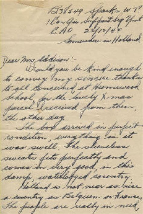 treasure trove of soldiers letters opens window on past