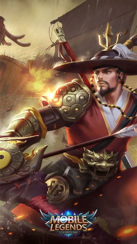 mobile legends wallpapers yi sun shin mobile legends