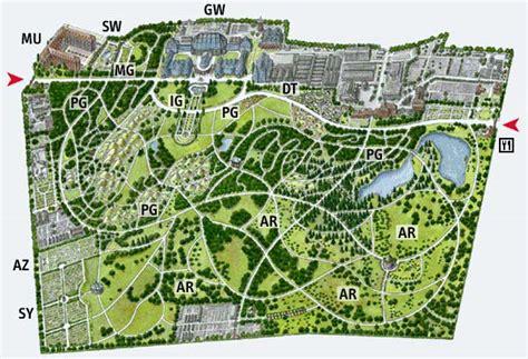 Botanischer Garten Berlin Karte by Gartenplan Bgbm