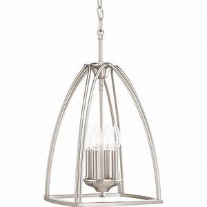 Progress lighting tally collection light brushed nickel