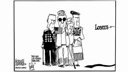 Veterans Trump Losers Aside Tosses Those War