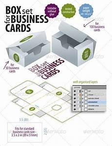 10 business card box templates design files free for Business card box template