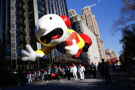 wind balloons fly  macys thanksgiving day
