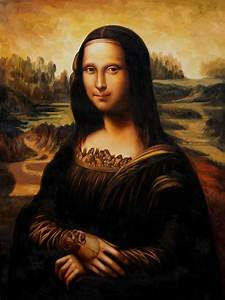 Mona Lisa DaVinci'd V.1 By S.Creighton by SCreighton on ...