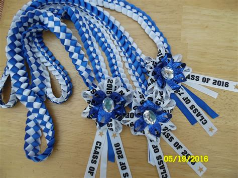 Graduation Leis, All Ribbons From Michael's Easy Diy Fish Tank Decorations Fluorescent Light Covers Classroom Bra And Underwear Drawer Organizer Pallet Bed Frame Instructions Thrift Projects Craft For Valentine S Day Camper Trailer Kitchen Outside Tables