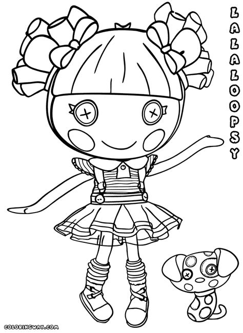 lalaloopsy doll coloring pages coloring pages