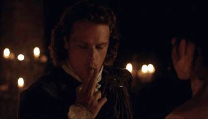 Smoking Outlander Sam Heughan Gag Giphy Cast