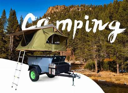 Camping Cargo Utility Mini Box Trailer Road