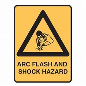 Lockout signs arc flash and shock hazard for Arc flash sign