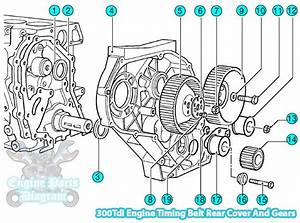 1995 Land Rover Defender Timing Belt And Gears 300tdi Engine