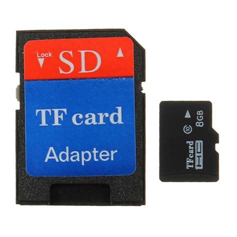 8g Micro Sd Tf Sdhc Secure Digital High Speed Flash Memory Card Class 4 Adapter Alexnldcom