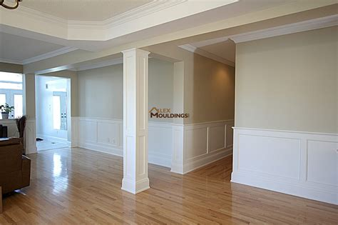 36 Inch Wainscoting by Wall Panels Wainscoting Raised Recessed Flat