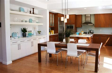 plan de cuisine ouverte sur salle a manger la cuisine ouverte sur la salle 224 manger 55 photos archzine fr