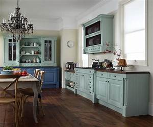 Blue, Kitchen, Ideas, Inspired, Give