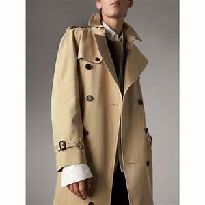 Trench Coat Homme Long : the westminster trench extra long miel homme burberry ~ Nature-et-papiers.com Idées de Décoration