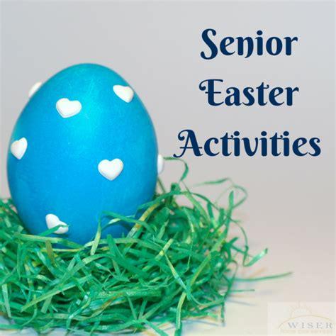 senior easter activities easter activities st patrick
