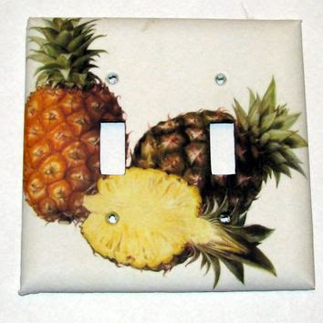 pineapple light switch cover best double light switch cover products on wanelo