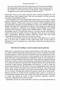 journalism essay