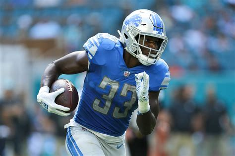 detroit lions kerryon johnson   key  winning