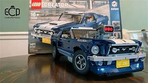 LEGO 10265 Creator Expert Ford Mustang Build Video - YouTube