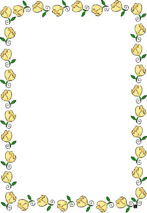 disegni con fiori colorati cornici con fiori colorati disegni di cornicette da colorare