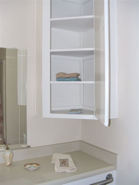 Bathroom Small Wall Cabinets by Furniture Wall Mounted Bathroom Corner Cabinet With Shelf