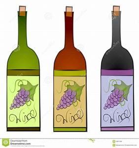 Wine Bottle Graphics Clipart