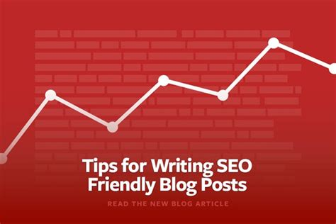 Tips For Writing Seo Friendly Blog Posts