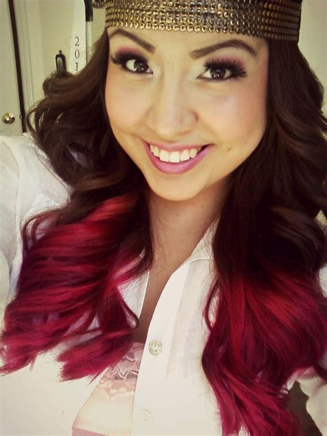 Hot Pink Ombre Hair Pink Hair Tips Dye Pinterest Hot
