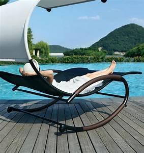 Fauteuil Bain De Soleil : chaise longue suspendue et fauteuil relax ~ Teatrodelosmanantiales.com Idées de Décoration