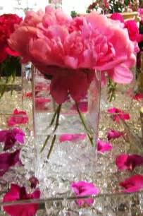 flower arrangements for wedding pink peony flowers for wedding ceremony flowers and reception table centerpieces