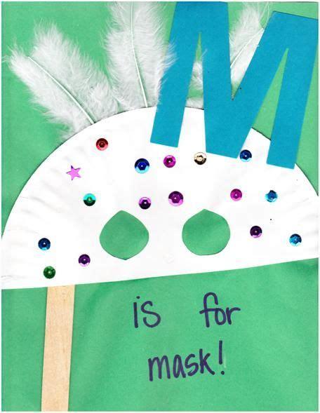 mask kids preschool ideas preschool letter