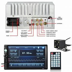 New Imars 7010b 7 Inch Car Stereo Radio Mp5 Player Fm Usb Aux Hd Bluetooth Touch 822456823152