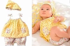 Vestido con pañuelo para niña diseño de flores
