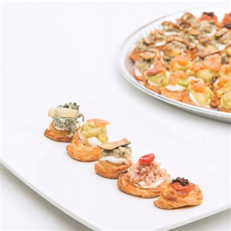 canape platters fournos order platters