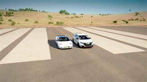2016 Honda Civic Type R Vs 2005 Honda Nsx-r Drag Race