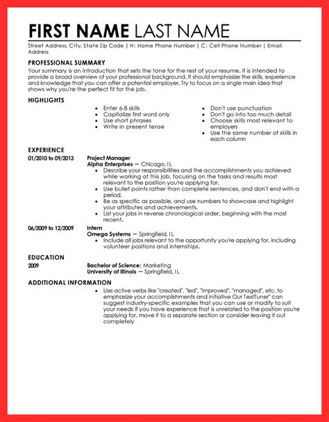 Resume Draft by Resume Draft Sle Resume Format