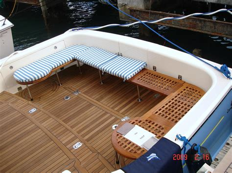 Custom Boat Seating Bench by Made Some Custom Bench Seating To The Pics
