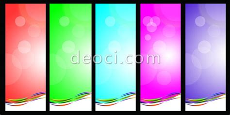 colorful exhibition panels banner background image