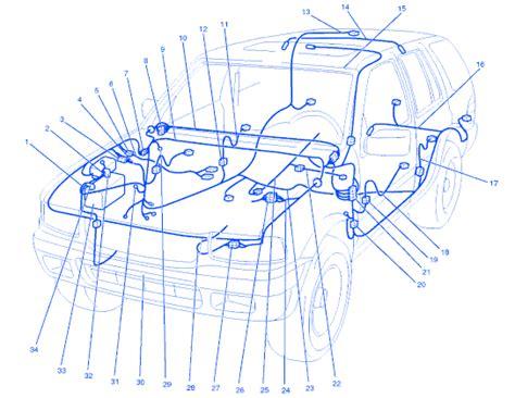 Isuzu Rodeo Engine Electrical Circuit Wiring