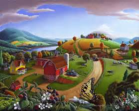 Halloween Farms Illinois by Just Finished This Oil Painting Blackberry Patch Rural