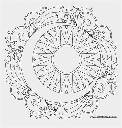Mandala Coloring Printable Jing Fm