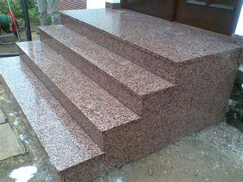 Granit Für Außentreppe by Gerade Treppen