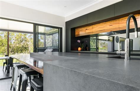 weston kitchens bathrooms caesarstone project profile