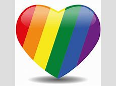 Rainbow heart rainbow colors Pinterest Rainbows