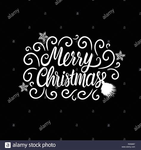 Christmas Drawing Black and White Stock Photos & Images