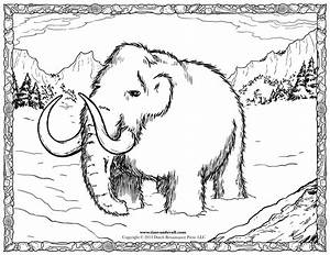 Woolly Mammoth Facts For Kids Social Studies Printables