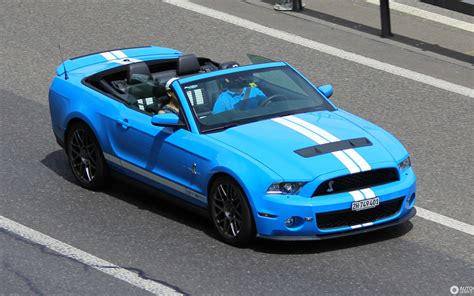 ford mustang shelby gt convertible   february