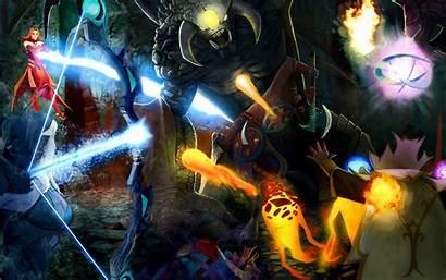 Dota Roshan Heroes Wallpapers Hero Ancients Defense