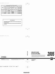 Citro U00ebn C3 2005 Manual